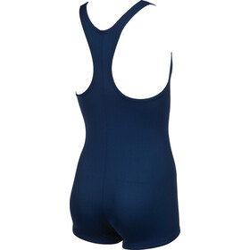 arena Finding One Piece Swimsuit Jenter navy-white